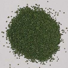 Зелен мраморен чипс 1 - 1,5 мм - оцветен