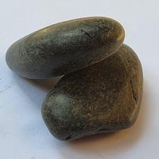 Черен полиран камък 4 - 7 см