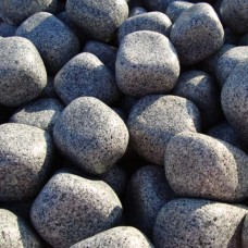 Сив овален камък - гранит